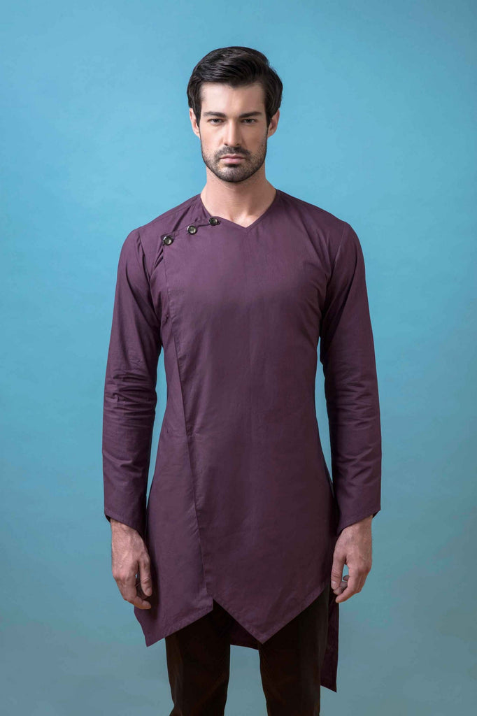 ASYMETRICAL SHORT KURTA