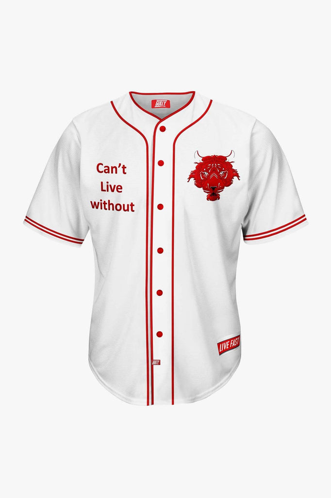 CANT LIVE WITHOUT BASEBALL SHIRT