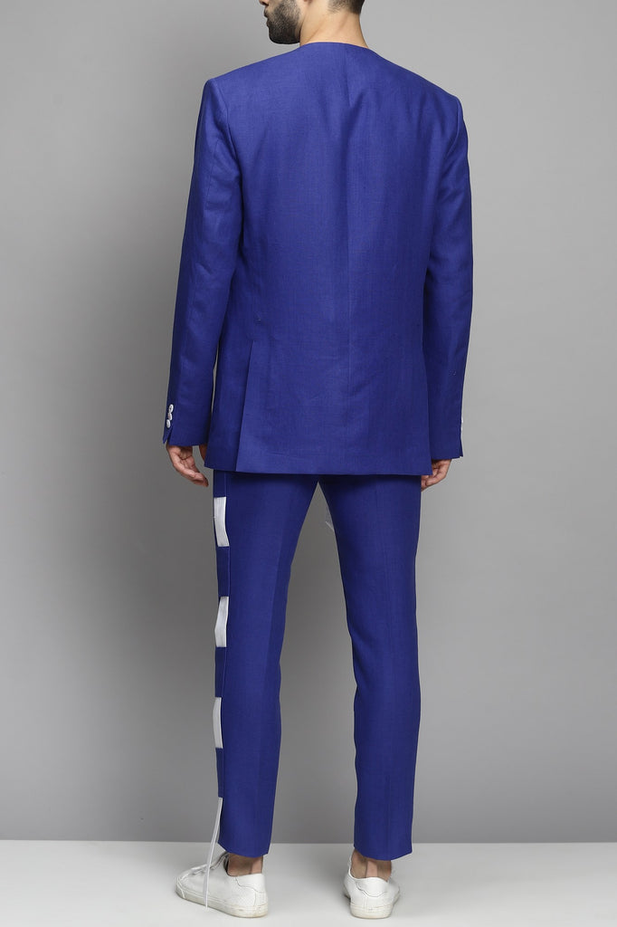 Royal Blue Suit Set
