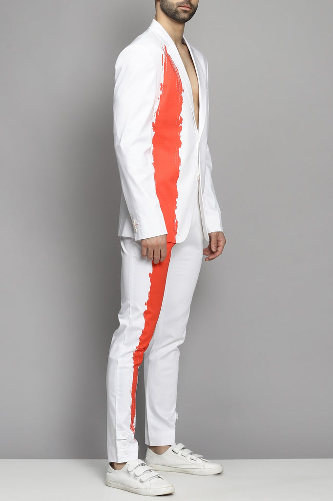 White Trouser With Trouser