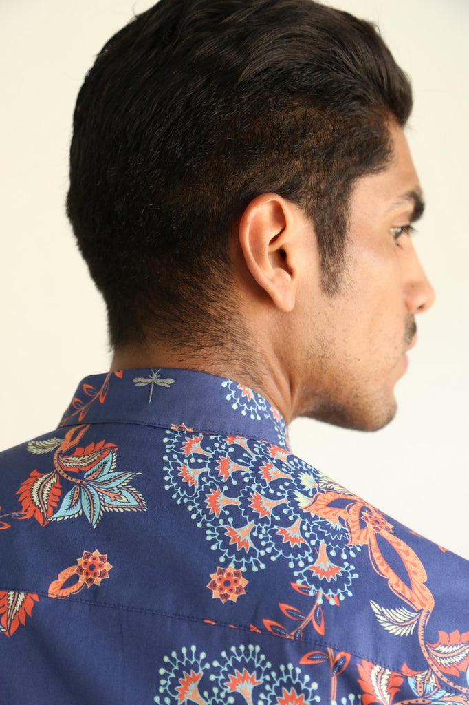 Great Paisley Classic Collar Shirt