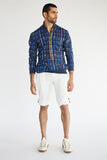 Kurta shirt with shorts