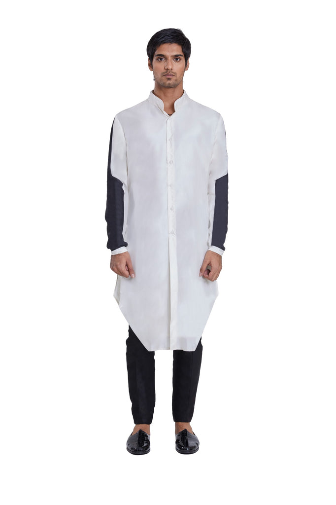 Armour Patch Sleeve Kurta 2