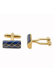 Inigo Cufflinks - Blue and Black
