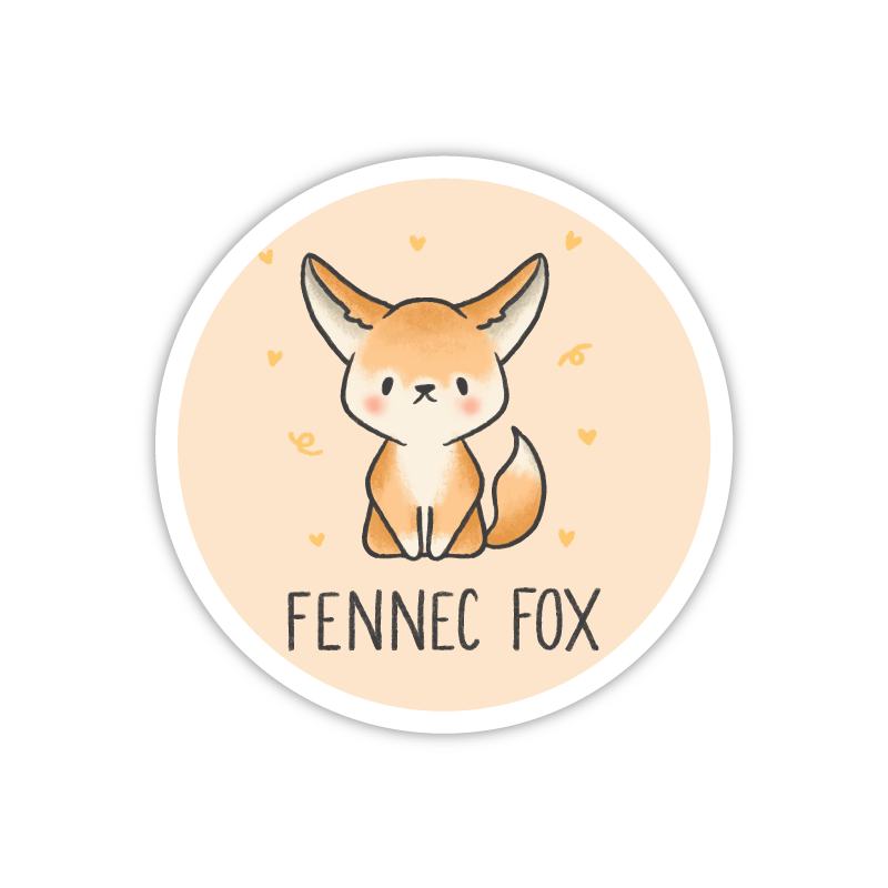 Plain Fennec Fox
