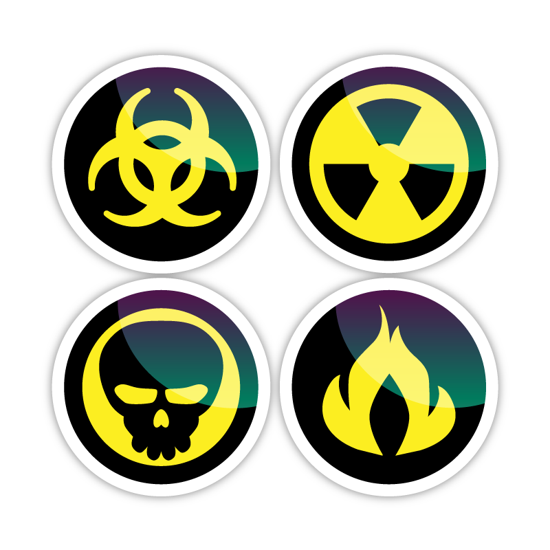 Post Apocalyptic Icons