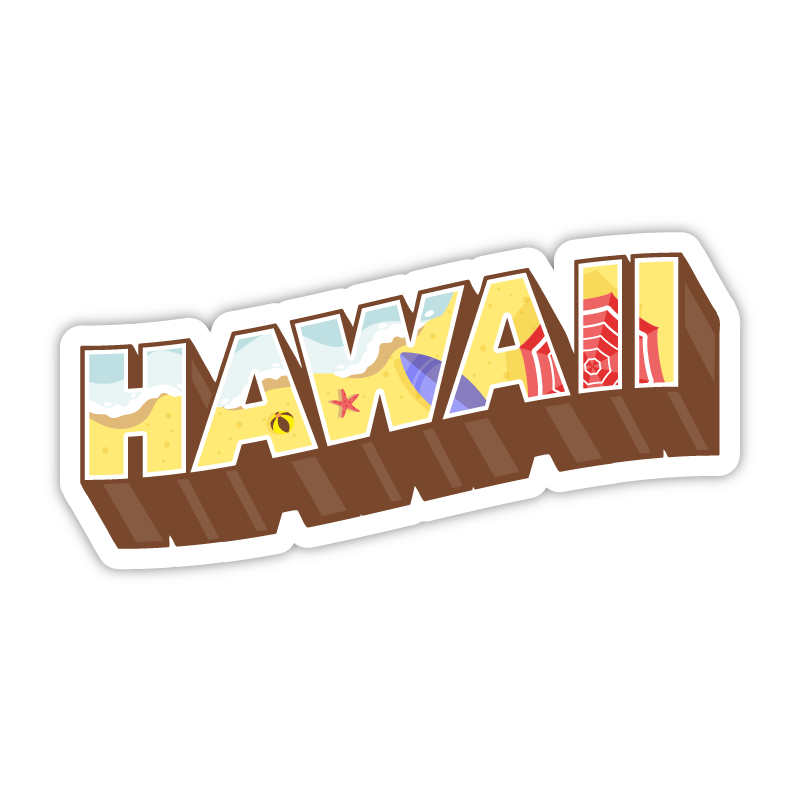 Hawaii Beach Letters