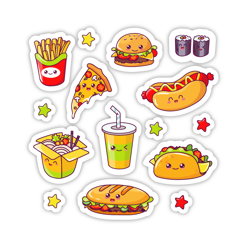 Kawaii Junk Food