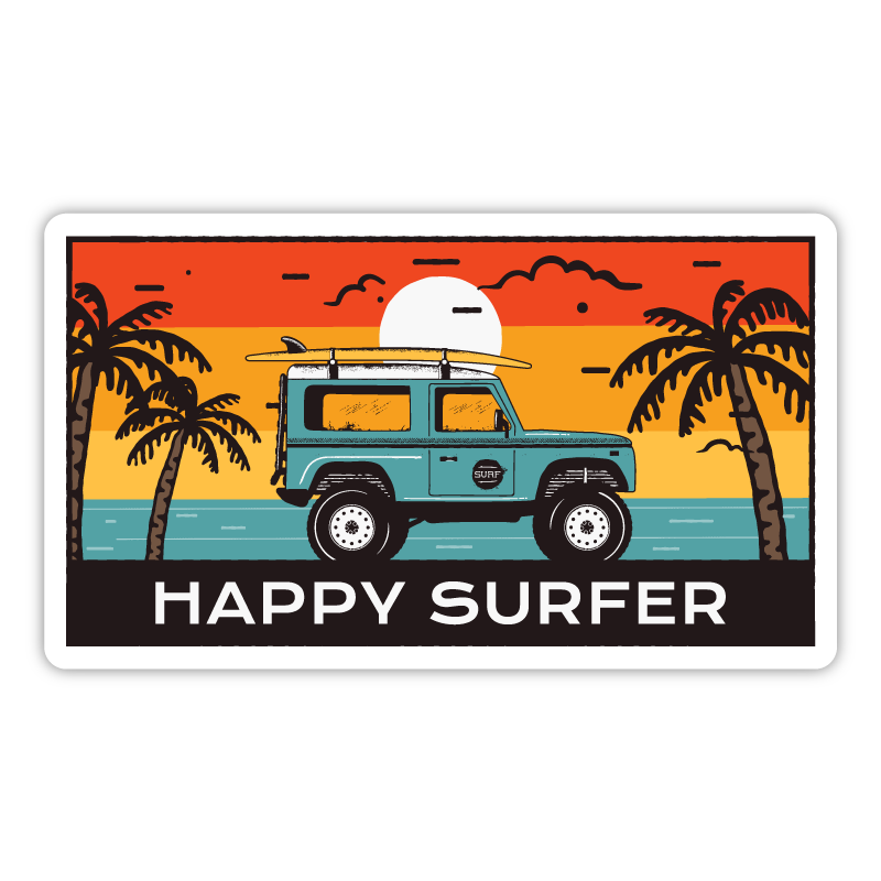 Happy Surfer