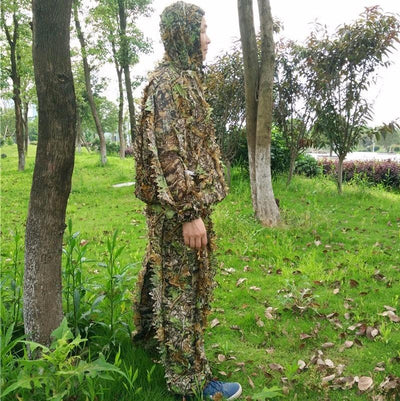 3D Leafy Hunting Ghillie Suit