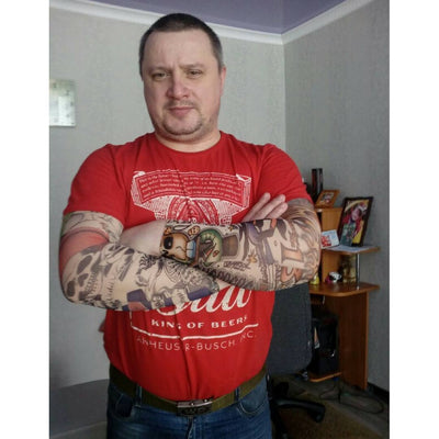 Accessory - Elastic Tattoo Arm Sleeve Bundle (6 X Arms)