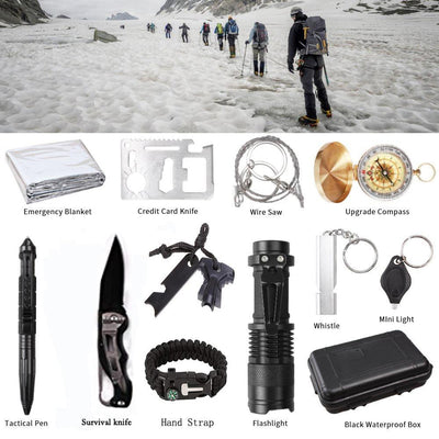 13-in-1 Survival Outdoor Kit