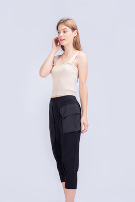 *Sales* Everly Mixed Fabric Pants