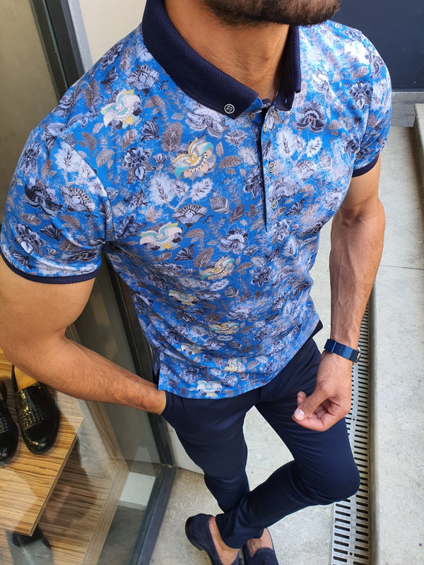 Sax Patterned Polo