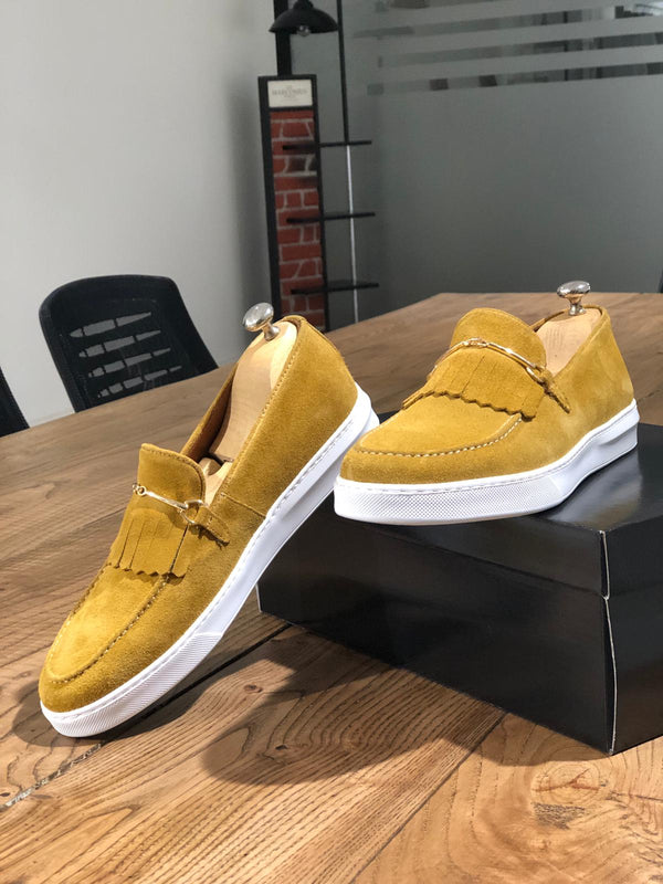 Yellow Suede Shoes