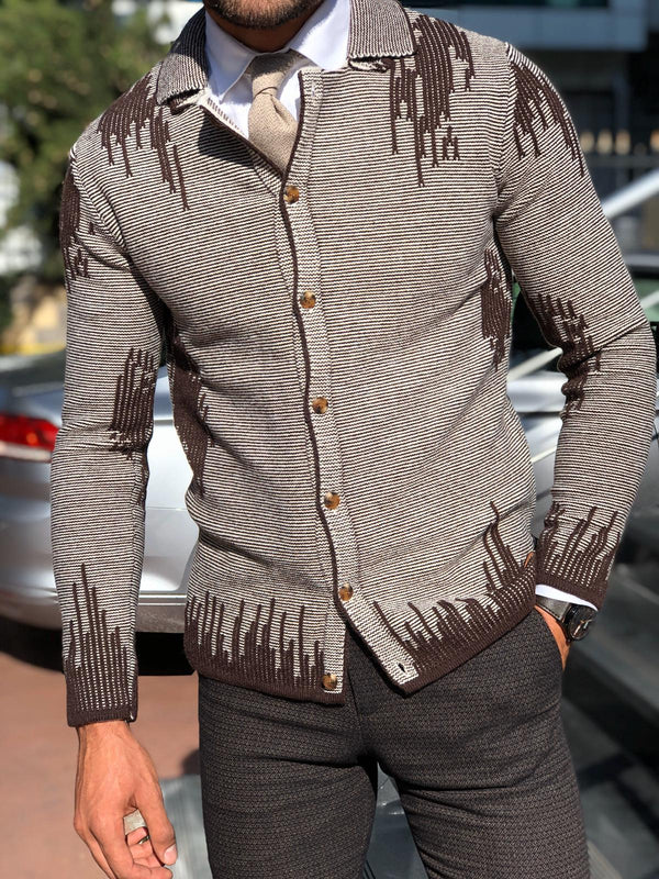 Brown Knitwear