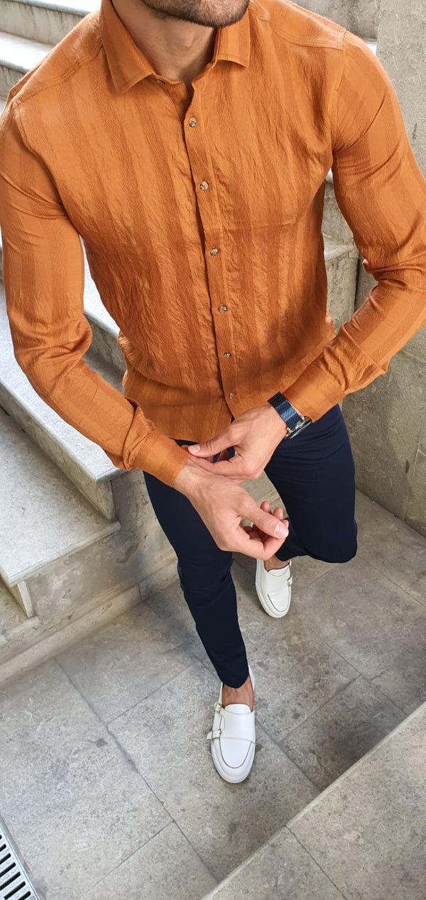 Camel Dress Shirt