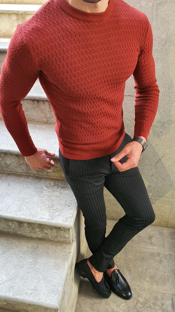 Red Executive Sweater