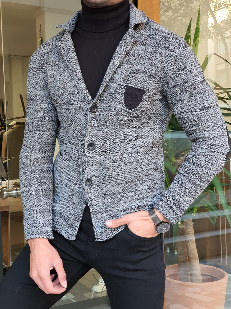 Dark Gray Knitwear