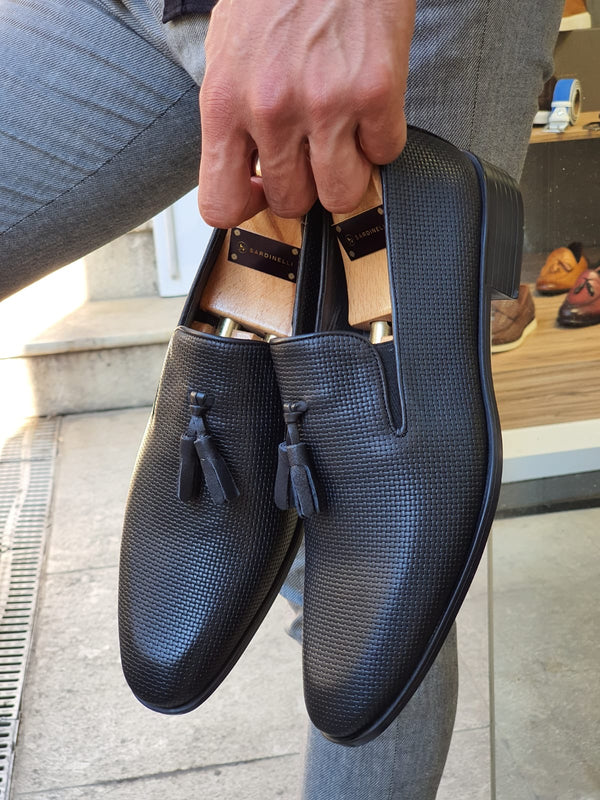 Black Calf-Leather Shoes