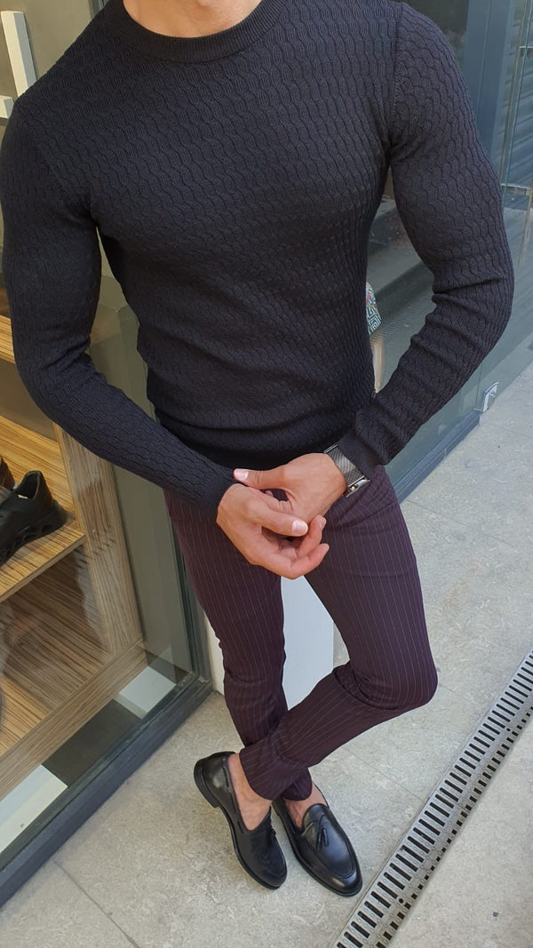 Black Executive Sweater