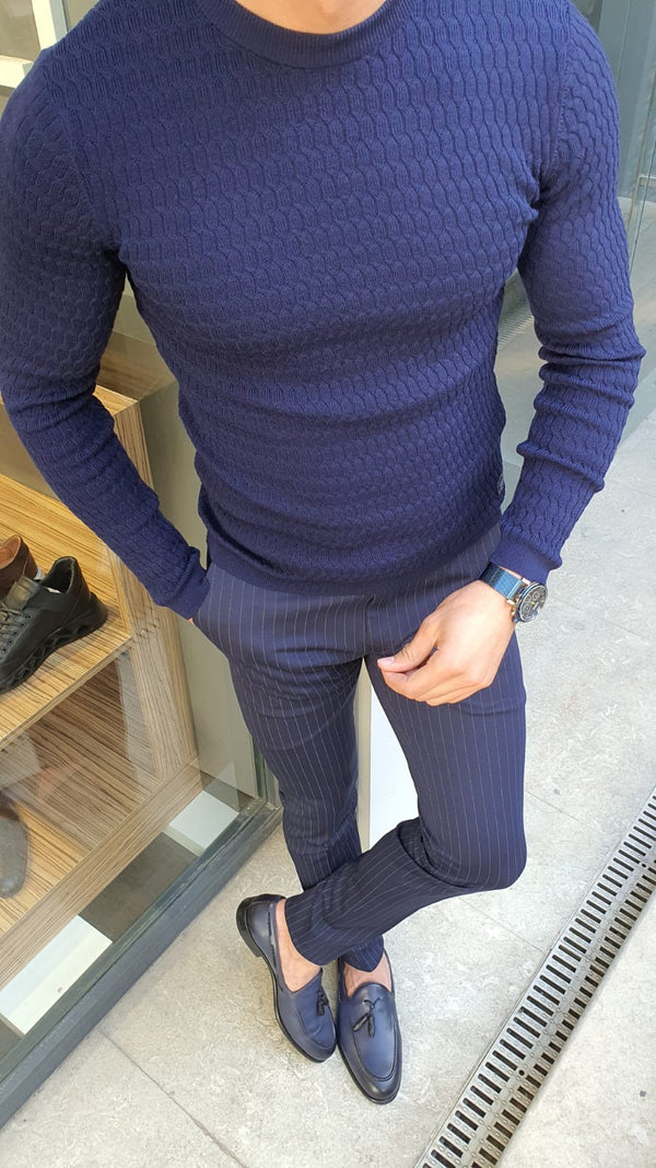 Navy Executive Sweater
