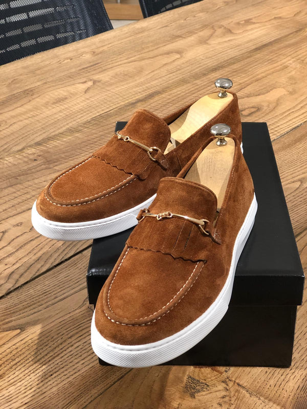 Cinnamon Suede Shoes