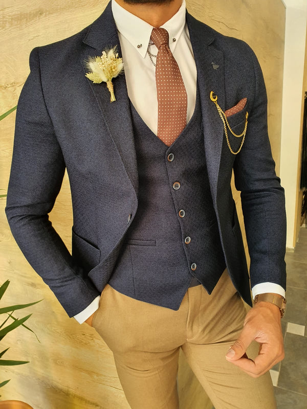 Navy Blue Suit