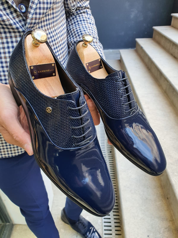 Navy Blue Classic Shoes