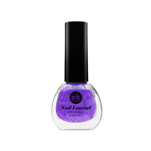 Nail Enamel | Nails by Nicka K - 070 NEON GLITTER PURPLE