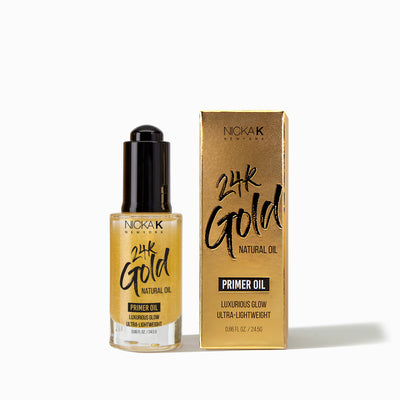 24K Gold Primer Oil | Skin Care by Nicka K - NGP02
