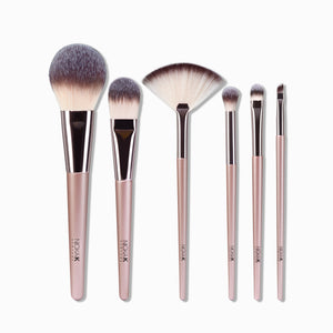 SILKEN BEAUTY BRUSH KIT - 6 PCS