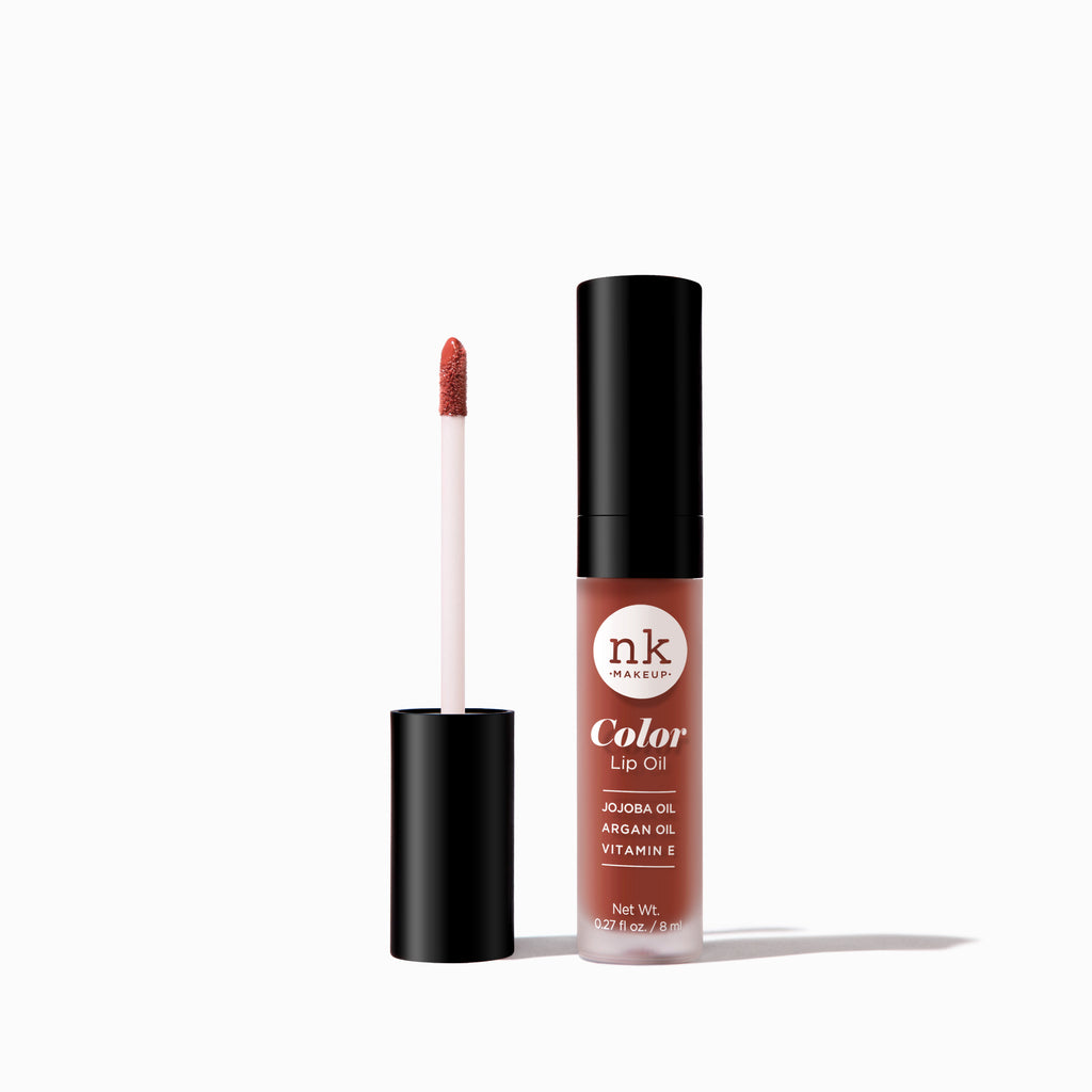Color Lip Oil | Lips by Nicka K - SHY CHAI NKC71