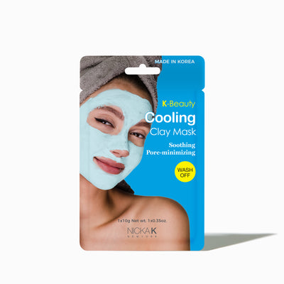 Facial Clay Mask | Face by Nicka K - SOOTHING PORE MINIMIZING