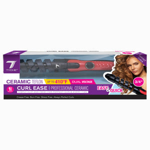 Curl Ease Professional Ceramic | Hair by Nicka K  - TCE - 0.75