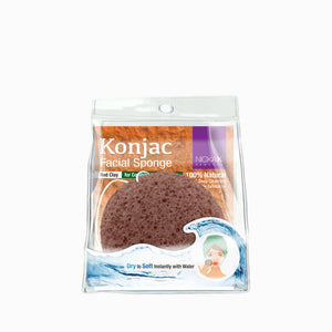 Konjac Facial Sponger | Face by Nicka K - RED CLAY NS061