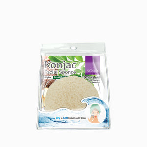 Konjac Facial Sponger | Face by Nicka K - ORIGINAL NS062