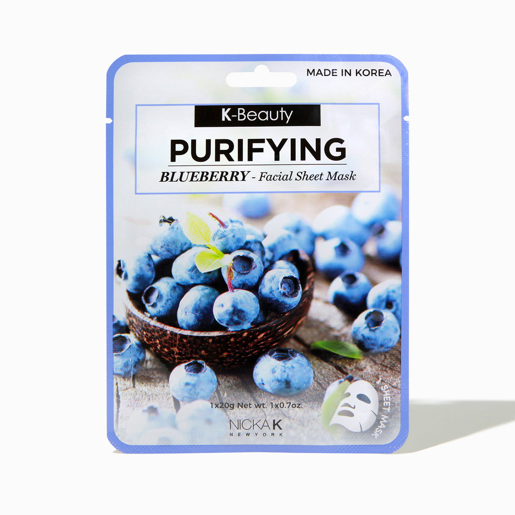 FACIAL SHEET MASK - BLUEBERRY