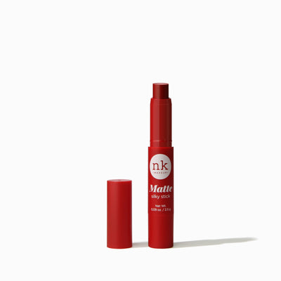 Silky Matte Stick | Lips by Nicka K - WILD ROSE NKF01
