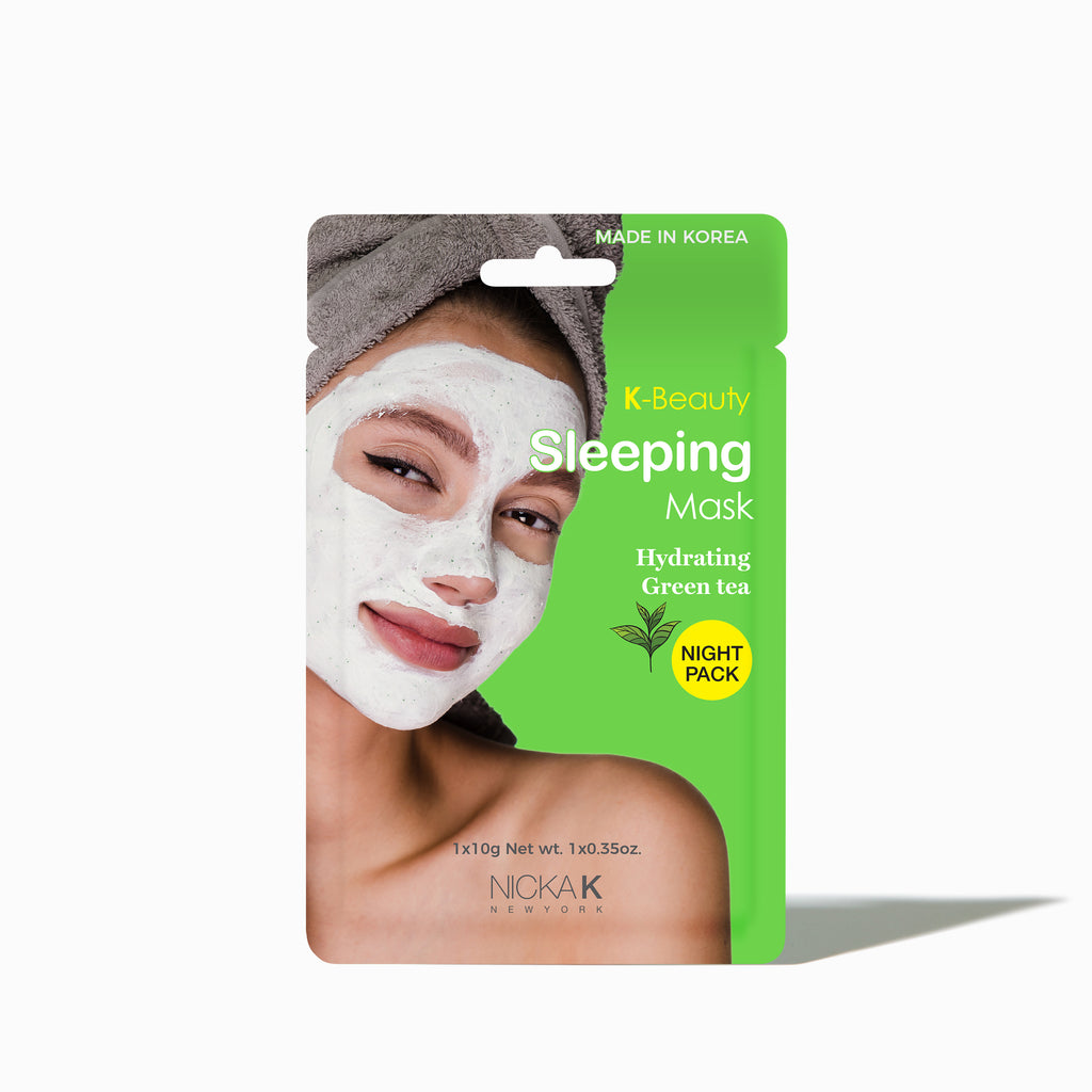 Facial Sleeping Mask | Face by Nicka K - HYDRATING GREEN TEA SMSL01