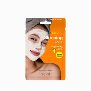 Facial Sleeping Mask | Face by Nicka K - BRIGHTENING CITRUS SMSL02