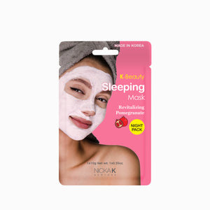 Facial Sleeping Mask | Face by Nicka K - REVITALIZING POMEGRANATE SMSL03