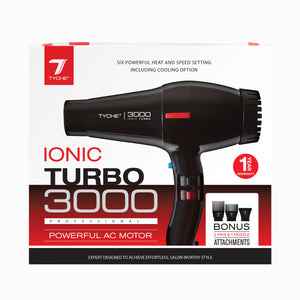 Ionic Turbo Jet 3000 | Hair by Nicka K - TD-1B