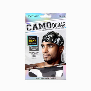 Camo Durag | Hair by Nicka K -TDU20