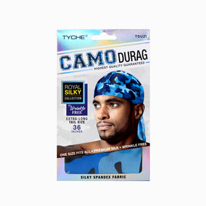 Camo Durag | Hair by Nicka K -TDU21