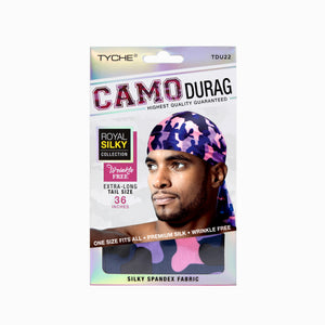 Camo Durag | Hair by Nicka K -TDU22