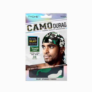 Camo Durag | Hair by Nicka K -TDU23