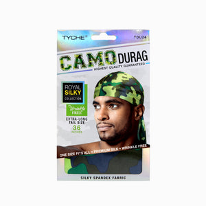 Camo Durag | Hair by Nicka K -TDU24