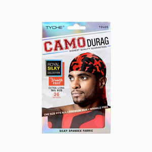 Camo Durag | Hair by Nicka K -TDU25