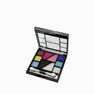 10 Perfect Ten Colors | Eyeshadow & Blush Palette by Nicka K - AP022
